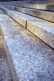 Granite stairs Royalty Free Stock Photos