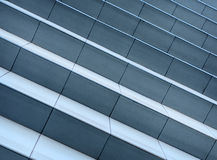 Granite  stairs in  the city. Royalty Free Stock Photos
