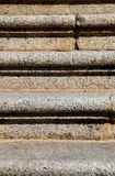 Granite stairs. Front view of granite stairs Stock Photography