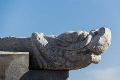 Granite statue Stock Images