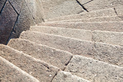 Granite steps Stock Photo