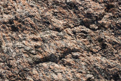 Granite Stone Background. Surface of a natural stone - a granite background Stock Photo