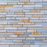 Granite stone block wall Royalty Free Stock Images