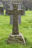 Granite Stone Cross. Stock Photography