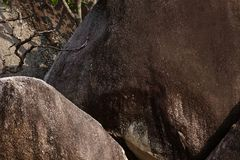 Granite stone formation Stock Images