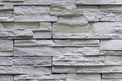 Granite stone gray decorative brick wall Stock Photography