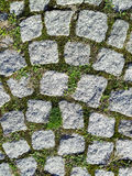 Granite stone pavement Stock Photo