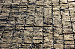 Granite stone paving slab Royalty Free Stock Image