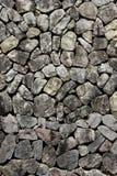 Granite stone slab wall Stock Photos