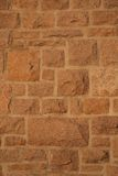 Granite stone wall Stock Photo