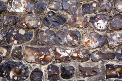Granite stone wall background texture Stock Photography