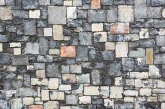 Granite stone wall background Royalty Free Stock Photo