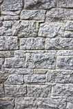 Granite stone wall blocks of bricks background Royalty Free Stock Image