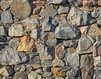 Granite stone wall Royalty Free Stock Photography