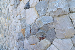 Granite Stone Wall Stock Images