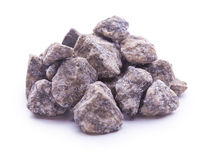 Granite stones isolated on the white background Stock Photography