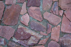 Granite stones pavement close-up Royalty Free Stock Photography