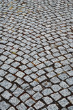 Granite stones of pitcher paving Stock Images
