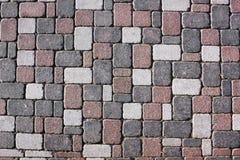 Granite stones road Royalty Free Stock Image