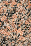 Granite Surface. A close up of a granite wall Royalty Free Stock Images