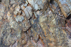 Granite texture. Natural gray rock granite texture close up Royalty Free Stock Image
