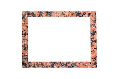 Granite texture Picture Frame Stock Photos
