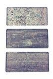 Granite texture samples Stock Photography