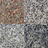 Granite textures Stock Photography