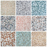 Granite tiles collection Stock Images