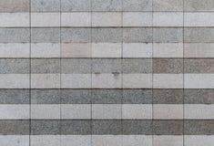 Granite tiles wall Royalty Free Stock Photos