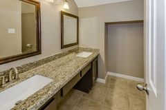 Real Estate Master Bath stock photography