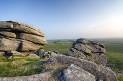 Granite Tor Stock Image