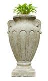 Granite vase, park design. Stock Photography