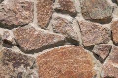 Granite wall Royalty Free Stock Photography