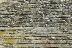 Granite wall. Old granite stone wall texture Royalty Free Stock Images