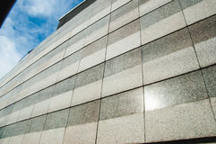 Granite walls architecture of building pattern Stock Photography