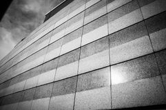 Granite walls architecture of building pattern Royalty Free Stock Photo