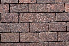 Granitfahrbahnbeschaffenheit stockfoto