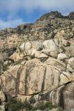 Granitic горные породы в Ла Pedriza Стоковое фото RF