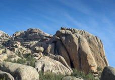 Granitic горные породы в Ла Pedriza Стоковая Фотография RF