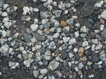 Granitkiesbeschaffenheits-Materialstein Stockfotografie