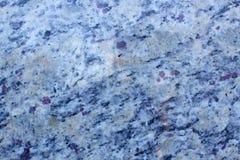 Granito blu e viola Immagine Stock