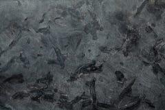 Granito cinzento escuro da textura da pedra da matriz Imagens de Stock