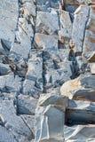 Granito colorido, angra de Gunwalloe, Cornualha, Reino Unido imagem de stock royalty free