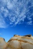 Granito deteriorado da rocha, Fujian, China Foto de Stock