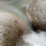 Granito ed acqua, Lynn Creek Fotografie Stock Libere da Diritti
