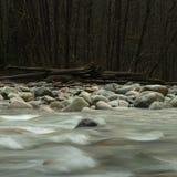 Granito ed acqua, Lynn Creek Immagine Stock Libera da Diritti