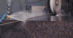 Granito que processa na fabricação filme