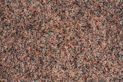 Granito rosso Fotografia Stock Libera da Diritti