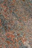 Granito rosso strutturato Immagine Stock